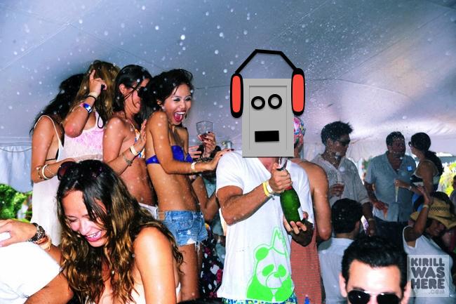 tub panda party Hot